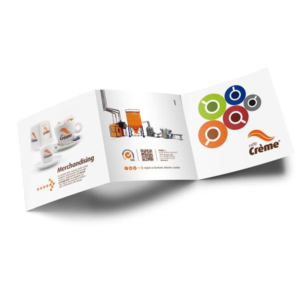 Caffè Crème - flyer aziendale