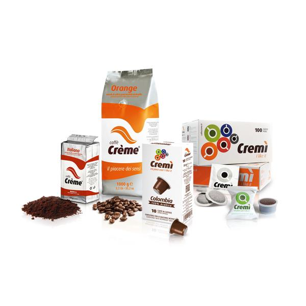 Caffè Crème - packaging