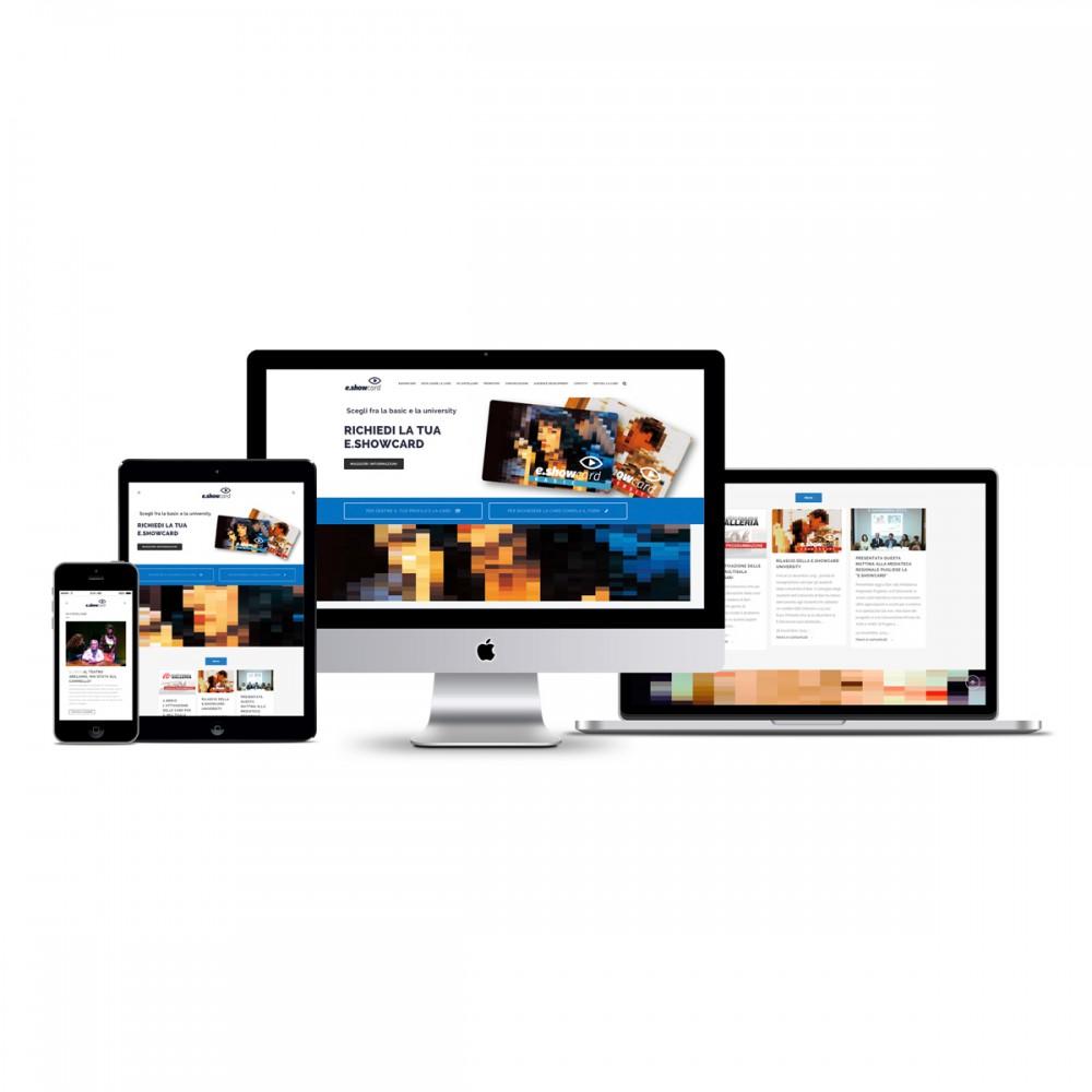 e.showcard - website