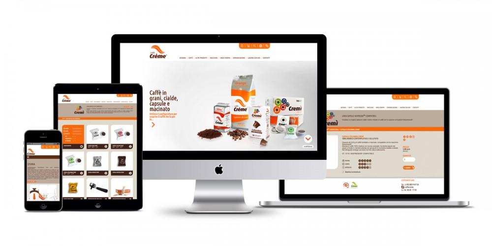 Caffè Crème - website